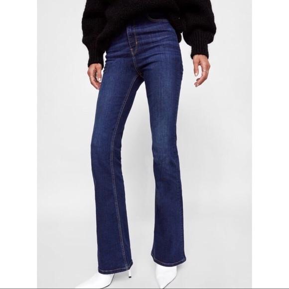 df30c552 Zara Premium Denim Skinny Flare Jeans. M_5b64d0f28158b5014c8fe7d4